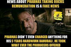 Prabhas Pics, Births, Fake News, Telugu, Work Hard, Hero, Facts, Guys, My Love