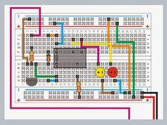 Montajes electrónica. Control con arduino y Scratch