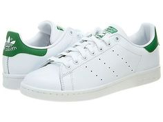 Adidas Stan Smith Mens M20324 White Fairway Green Leather Shoes Sneakers Sz 10