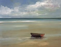 On The Beach by Anne Packard. Giclee on canvas. For more info, call us at the gallery at 301.881.5977 or email us at info@huckleberryfineart.com. Check us out on Facebook and Twitter too!