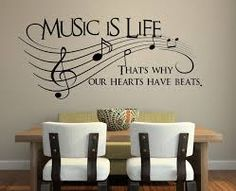 Image from http://yeroket.com/i/2015/04/music-is-life-vinyl-wall-decal-sticker-art-as-wall-tat-ideas-in-dining-area-with-wooden-table-white-chairs-birdhouse-wall-decal-wall-decal-beautiful-wall-decor-personal-decorating-idea.jpg.
