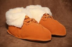 Moose Boot Slipper. #leather #Canada #handmade #Rockwood #Ontario #like #daily #fashion #hidesinhand