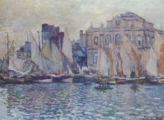 'The Museum at Le Havre', Claude Monet, 1873