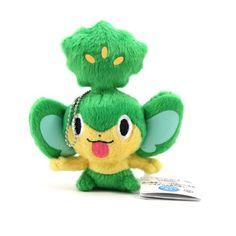 Pokemon Best Wishes Pansage 3 inch Plush Figure