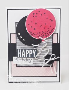 Birthday card using Stampin Up Celebrate Today. By Narelle Farrugia for JAI 282