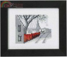 Permin of Copenhagen 14-0139-Cross stitch Communication / Download-Cross stitch Patterns Scanned-PinDIY -