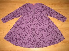 LADIES GUDRUN SJODEN MULTI PRINT QUIRKY BUTTON UP TUNIC DRESS SIZE S #GudrunSjoden #Tunic #Casual