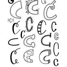 Letter C! #handletteredabcs_2017 #handletteredabcs #abcs_c #lettering #handlettering #handletter #handlettered #letteringpractice #handletteringpractice #tombow #tombowusa #zigwriter #papermateflair #c #letterc #alphabetart #typespire #typography #font #handfont #handmadefint #typeyeah #typegang #letteringco #letteringchallenge #calligraphy #script #modernscript