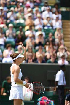 Simona Halep. Wimbledon 2014.