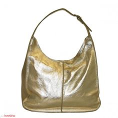 Torba Shopper Margherita Złoty