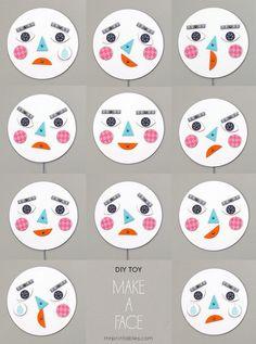 DiY Toy - Make a face