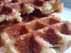 MY MAGIC THERAPY: LA MEJOR RECETA DE GOFRES BELGAS!!!!!!!!!