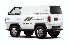 Daihatsu Mud Master-C Vw Beach, Rv Truck, Tokyo Motor Show, 4x4 Van, Toyota Hiace, Mini Trucks, Toyota Cars, Daihatsu, Custom Vans