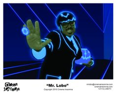 Autographed 8x10s featuring an Mr. Lobo of the Nationally syndicated late night Horror Host Program, Cinema Insomnia. These 8x10's are personally signed by Mr. Lobo himself and are made out to you! When buying this listing, please message us to let us know who to have Mr. Lobo make it out to! A must have for a Cinema Insomnia Fan!