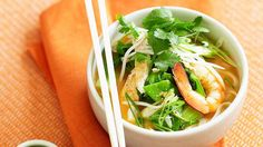 This low-fat recipe has all the flavour of a traditional laksa with a fraction of the fat.