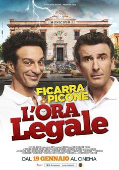 L'ora legale, il nuovo film di Ficarra e Picone, dal 19 gennaio 2017 al cinema.