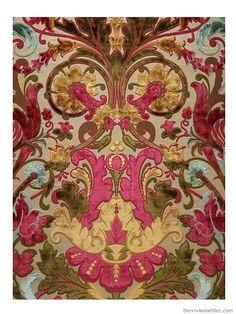 Velvet Fabric by Matheon & Bouvard