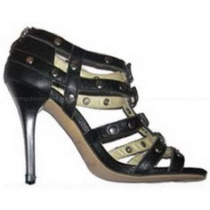 Jimmy Choo Sandals Black Blaze Studded -$165