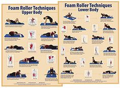 Foam Rolling Technique Charts | Foam Rollers, foam roller exercise DVDs and Charts from Fitness First