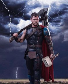 Avengers:Endgame : Thor Odinson Mjolnir and StormBreaker Marvel Comics, Films Marvel, Marvel Comic Universe, Marvel Characters, Marvel Heroes, Marvel Cinematic, The Avengers, Captain Marvel, Thor Marvel