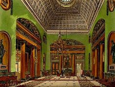 RR, 'The Hall of Entrance at Carlton House,' 1819