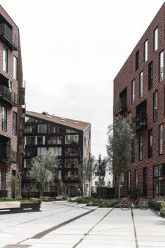 "A ""hyper-democratic"" housing complex in Copenhagen combines community input with contextual design 