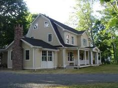 Dutch Colonial Homes With Porches Google Search House Plans Style