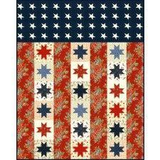 Flag of Valor Quilt Pattern