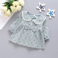 Baby Girl Frocks, Frocks For Girls, Little Girl Dresses, Baby Clothes Patterns, Girl Dress Patterns, Cute Baby Clothes, Sewing Patterns, Little Girl Fashion, Toddler Fashion