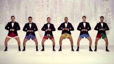 Kmart Commercial Show Your Joe Jingle Bells men In Boxers! [Funny Kmart ...