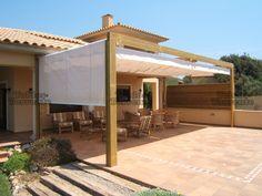 Terraza on pinterest pergolas retractable canopy and - Toldos pergolas para terrazas ...