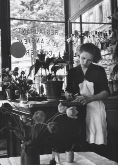 Paris 1952- by Edouard Boubat