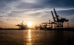 Harbour of Hamburg, Germany by Christian Mauer on 500px