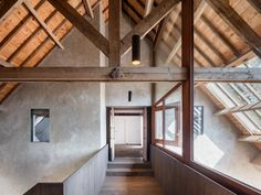 A former dairy farm is penetrated with a new extension, turning the typical old-school farmhouse into a modern residence with a traditional aesthetic. Local firm Zecc Architecten has a knack for renovating old buildings and giving them new life.In this instance, the firm appears to have physically 'pierced the archetypal farm with a new wooden volume' perpendicular to the existing building. The newly completed extension provides additional domestic space at the rear of the barn, which…