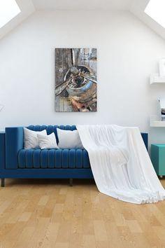 Art mural | FLY RIDER L'hélice d'un Boeing Clipper américain n'aura jamais été aussi accessible dans votre salon. #multiambiance #salon #salonmoderne #decorationinterieure #ideedeco #tendancedeco #ambiance #decodesign #tendancedesign #decointerieure #tendancedeco #inspirationdeco #artmural #artdeco  #boeingclipper