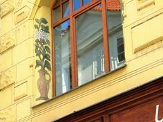 Prágai ablakdísz