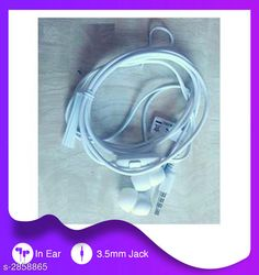 Wired Headphones & Earphones General Wired Earphone Material : Plastic,Rubber & Metal Size : Free Size  Type : In Ear Audio Jack : 3.5 mm Compatible With : All Smart Devices With Mic : Yes Description: It Has 1 Piece Of Wired Earphone Sizes Available: Free Size   Catalog Rating: ★3.9 (2405)  Catalog Name: General Wired Earphone Vol 1 CatalogID_388288 C97-SC1375 Code: 771-2858865-072