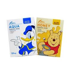 JPIA Pooh Honey / Donald Duck Aqua Essence Mask 25g x 10ea #JPIA #333korea #skincare #beauty #koreacosmetics #cosmetics #oppacosmetics #cosmetic #koreancosmetics #masksheet #maskpack #facemask #facialmask