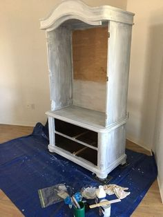 They drag an armoire out of their bedroom for a brilliant reason!