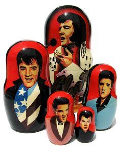 Elvis Nesting Dolls