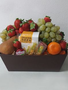 Healthy Fruit Gift Baskets are a great choice for Mother's Day gifting.