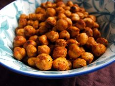 Roasted Garbanzo Beans Chickpeas Recipe - Low-cholesterol.Food.com