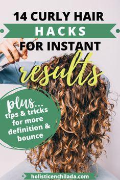 Make Hair Curly, Wavy Hair Tips, Frizzy Hair Tips, Thick Curly Hair, Curly Hair Routine, Curly Hair Care, Curly Hair Styles, Natural Hair Styles, What Makes Hair Curly