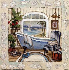Sea Breeze Bath II (Charlene Winter Olson)