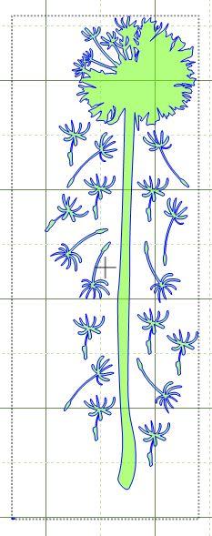 Dandelion SVG File