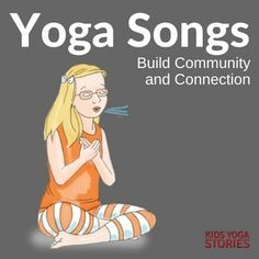 4 Yoga Songs for Kids to Build Community and Connection - try these yoga songs in your yoga classes or classrooms! Kids Yoga Poses, Yoga For Kids, Exercise For Kids, Yoga Song, Yoga Music, Music Activities For Kids, Kids Songs, Toddler Yoga, Baby Yoga