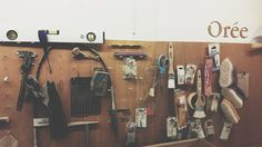 Workshop tools #Workshop #Tools Outils de latelier #Handmade #MakersMovement #Crafting #SlowLife