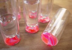 awesome diy on how to paint the bottom of your glasses with nail polish diy