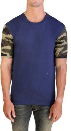 86fe35d1e Christian Dior Men's Camouflage Sleeve T-Shirt Blue Camouflage, Tank Man,  Christian Dior