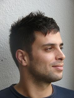 short haircut man by wip-hairport, via Flickr